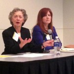 Linda Harfst of Cullen weston Pines and Bach LLP and Amy Tutwiler of Bell and Moore and Richter S.C.