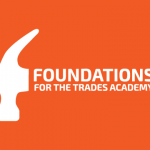 Foundations for the Trades orange logo