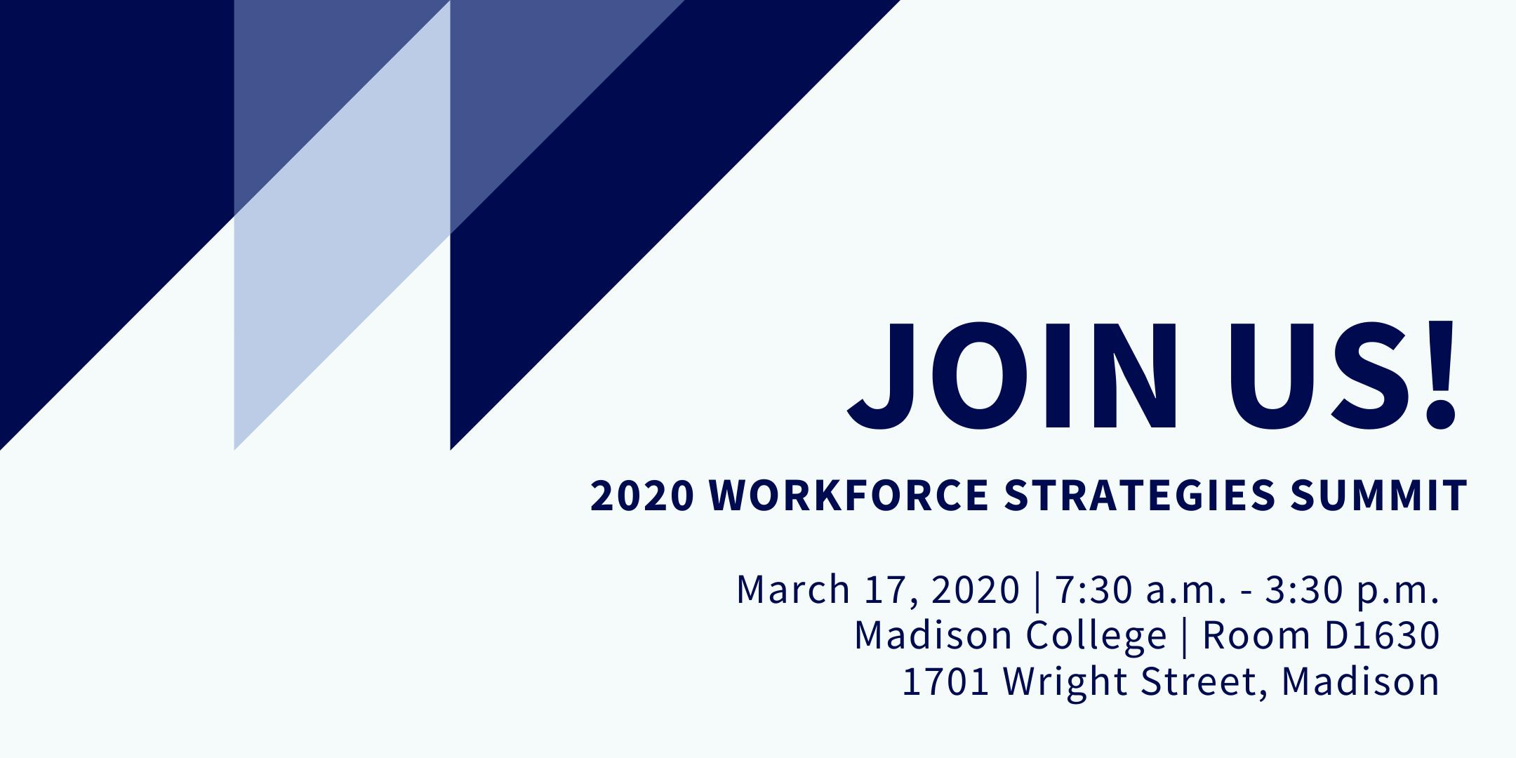 Workforce Strategies Summit design